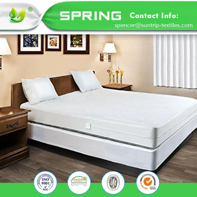 Allergy Anti Bacterial Waterproof Mattress Cover TPU Membrane
