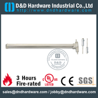 SUS304 Vertical Rod Panic Bolt for Escape Door with UL Certificate-DDPD006