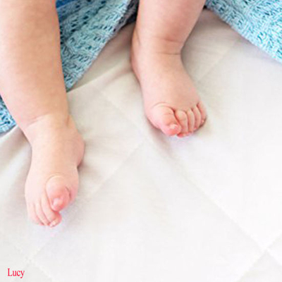 Luxuriously Soft Bamboo Pack N Play Crib Mattress Pad Cover