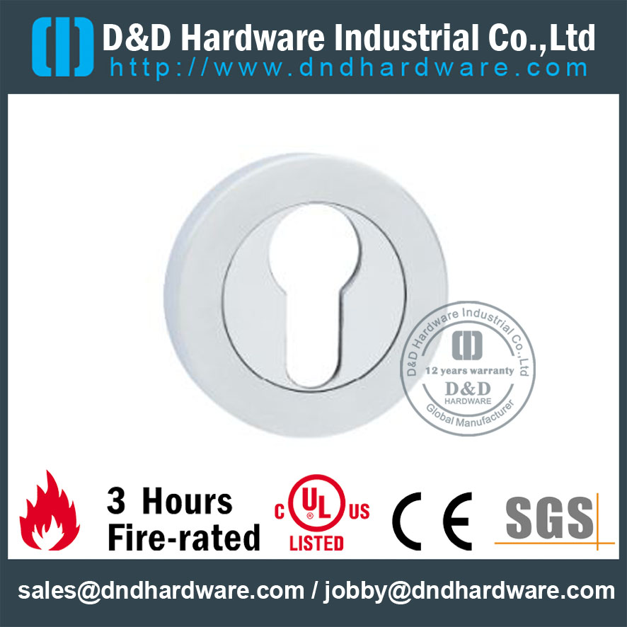 Stainless Steel Key Cylinder Thread Type Escutcheon for Entry Double Door -DDES008  sc 1 st  Du0026D HARDWARE INDUSTRIAL Co. Ltd & Stainless Steel Key Cylinder Thread Type Escutcheon for Entry Double ...