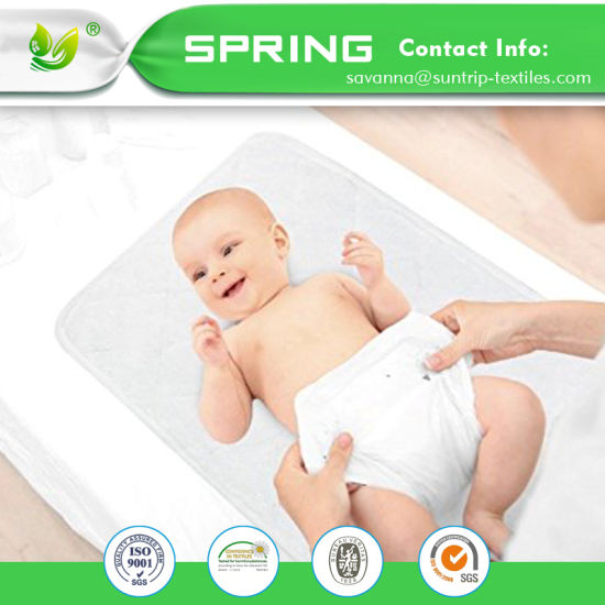 Soft Cotton Changing Mat Liners Infant Waterproof Changing Pad Liner