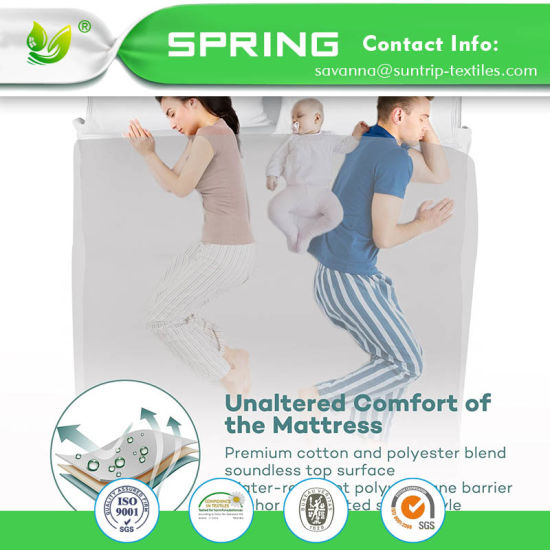 Premium Full Mattress Protector, 100% Waterproof Hypoallergenic Mattress Cover with Cotton Terry Surface