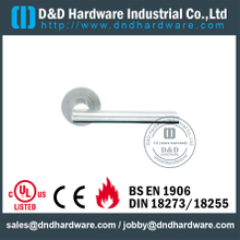 Grade 316 Hot Sell Designer Lever Door Handle on Rose for Commercial Metal Door -DDTH035