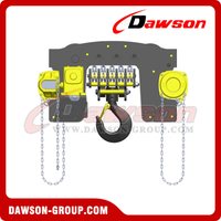 20Ton, 20000kg Chain Hoist Trolley,Chain Block Trolley