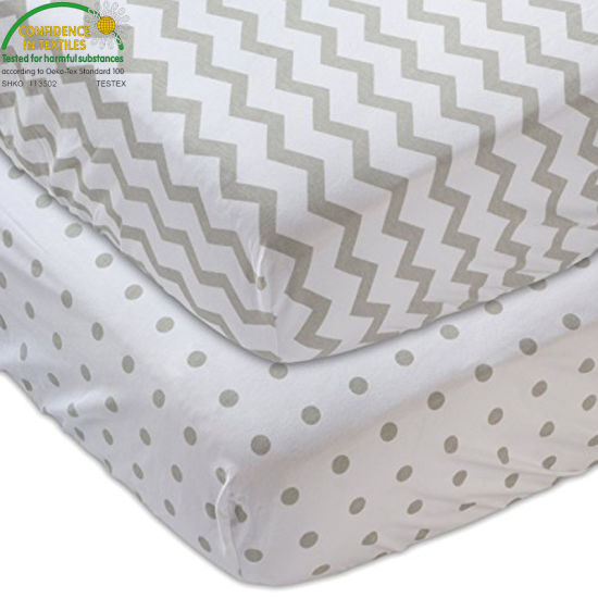 Quilted Ultra Soft White Bamboo Terry Fitted Sheet Styles Waterproof Crib Mattress Protector/Cover Colored Pattern