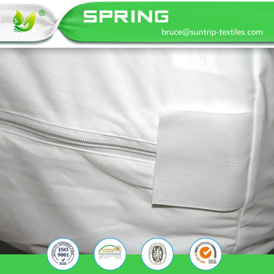 Zippered Queen Waterproof Dust Mite Bed Bug Proof Breathable Mattress Protector