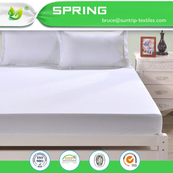 Mattress Protector Micro Percale, Water Proof 100% Cotton Mattress Protectors