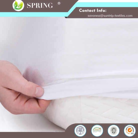 "100% Cotton Terry Surface, Hypoallergenic, Deep Pocket Skirt Fits up to 22"" Mattress"
