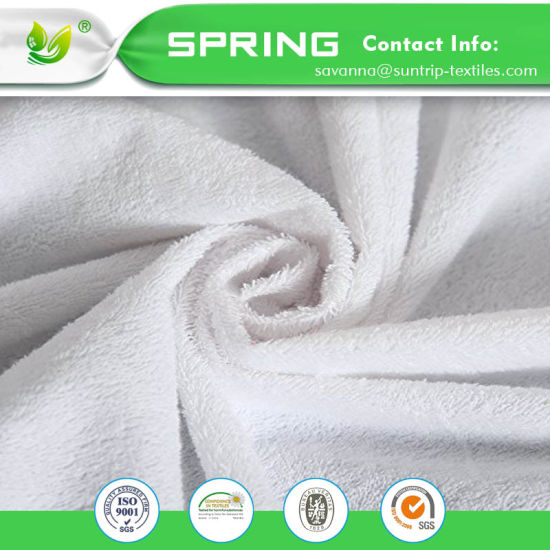 100% Waterproof Hypoallergenic Premium Smooth Fabric Mattress Protector