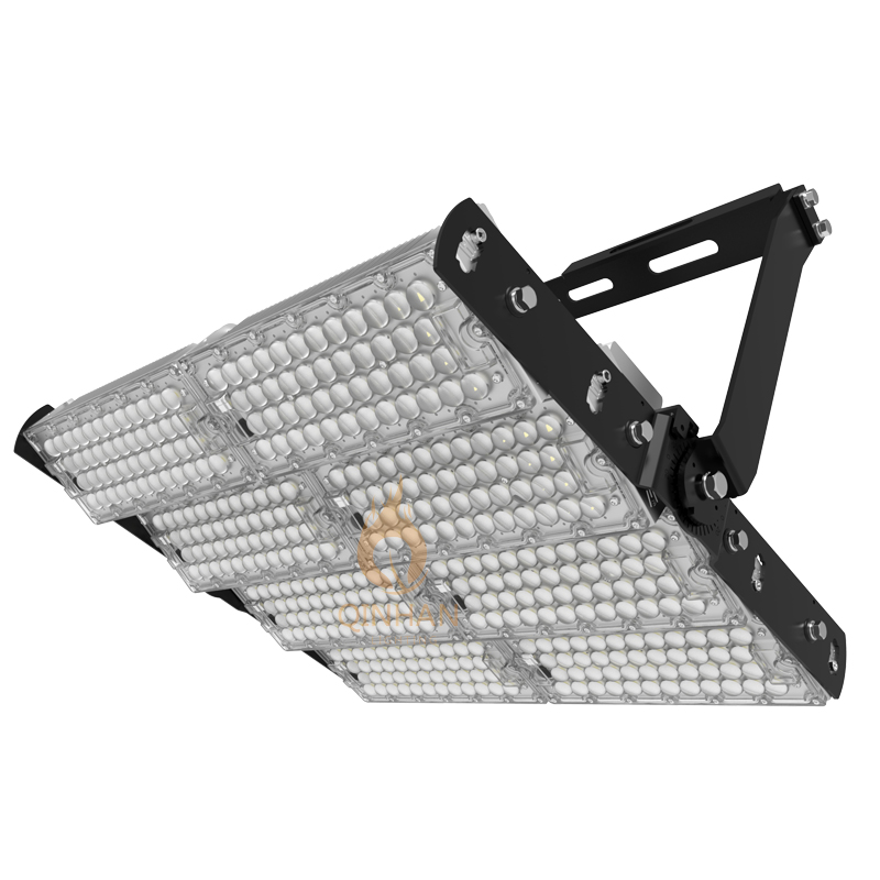 160LM/W 800-1000W High Power Led High Mast Stadium Flood Light
