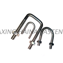 DIN3570 Stainless Steel A4-80 U Bolt or Square U Bolt