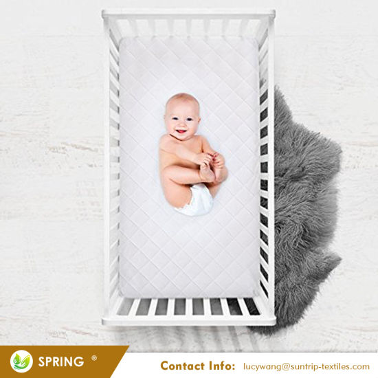 Machine Washable Crib Mattress Cover Zipper