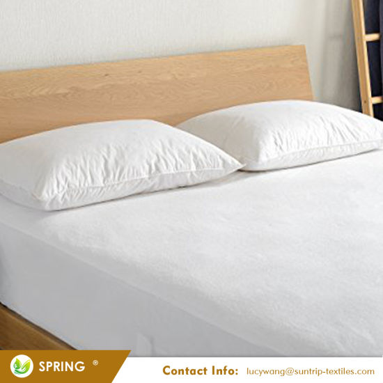 Queen Mattress Protector - 100% Waterproof, Hypoallergenic, Breathable, Ultra-Soft, Fitted Style with Deep 18 Inch Skirt