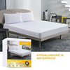 Breathable Waterproof Hypoallergenic Cover Queen Size Mattress Protector