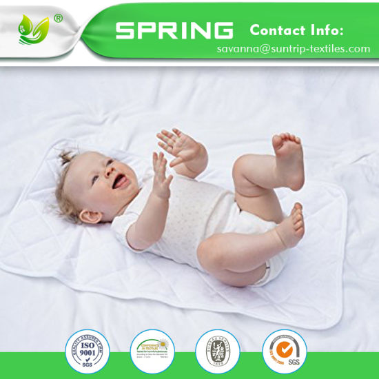 Infant Baby Mattress Pad Crib Protector Cotton Waterproof Nursery
