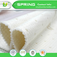 Chinese Supplier 270GSM Purple Color Tencel Jacquard Mattress Fabric, Polyester Fabric with TPU