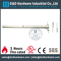 Stainless Steel 304 Fire Rated Panic Exit Device with UL Listed for Double Wooden Doors-DDPD004