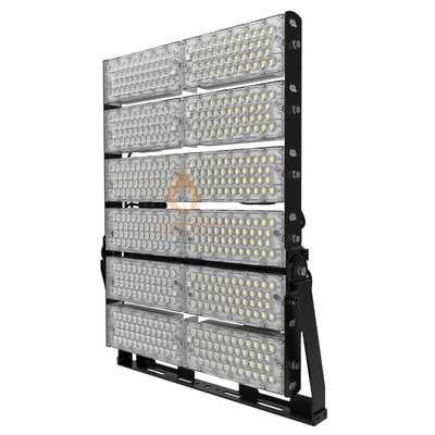 160LM/W 1200W High Power Led High Mast Stadium Airport Flood Light
