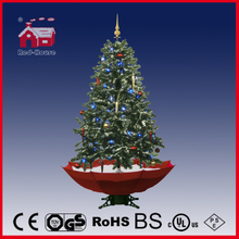 (40110U150-RW) LED Christmas Tree with Flying Snow and Music for Decoration