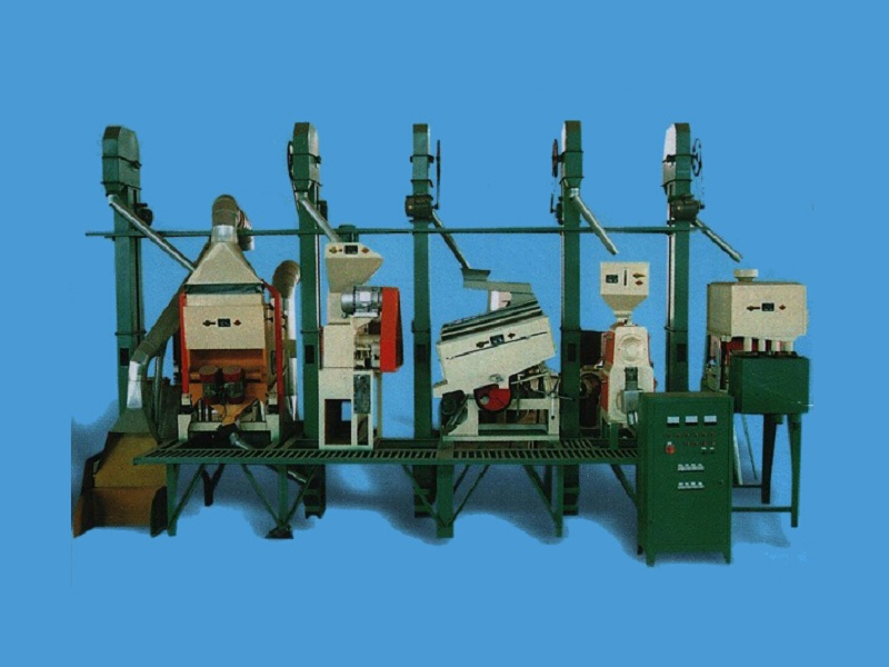 20-30t/day Small Rice Milling Plant