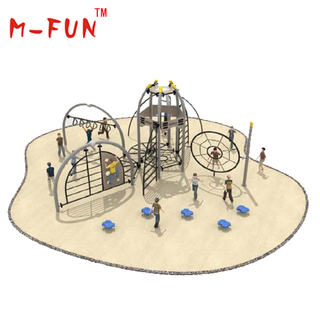 Iron jungle gym for kids