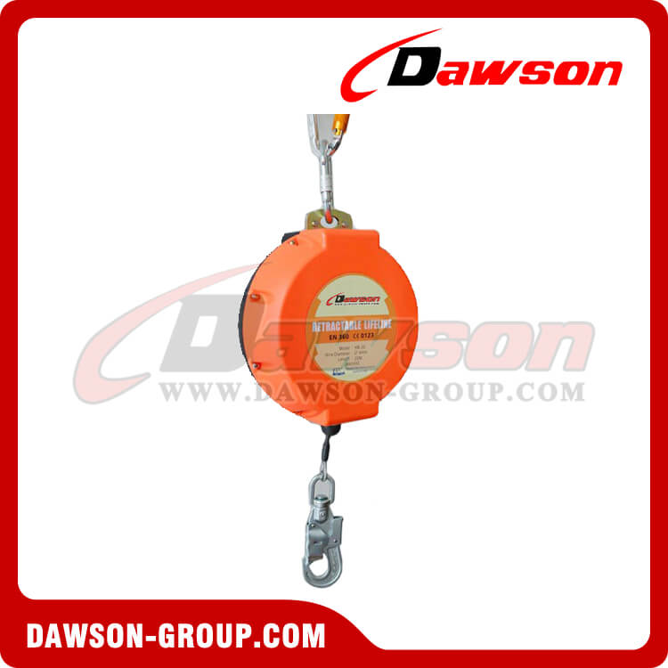 Self retractable lifeline