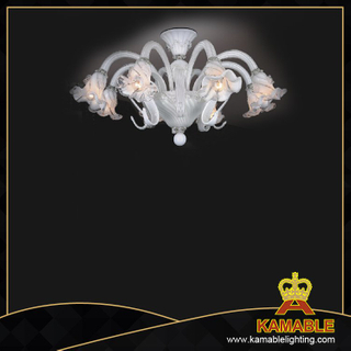 Ceiling glass Murano style home glass chandelier(81011-8)