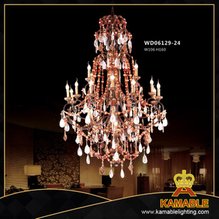 Hotel Brass Classical pendant chandelier(WD06129-24)