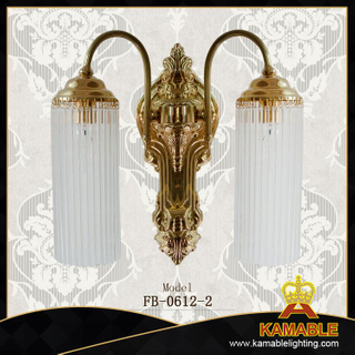 Fresh style indoor decorative brass wall lights(FB-0612-2)
