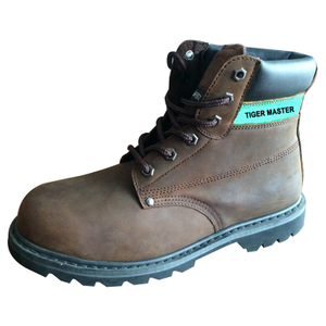 GY003 oil resistant non slip steel toe goodyear work boots