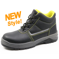RU001 best-selling leather steel toe china safety work shoes for russia