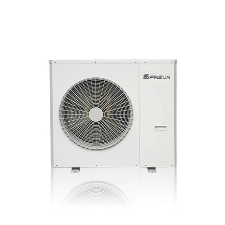 9KW -30℃ EVI Inverter Low Temperature Air to Water Heat Pump for Heating & Cooling