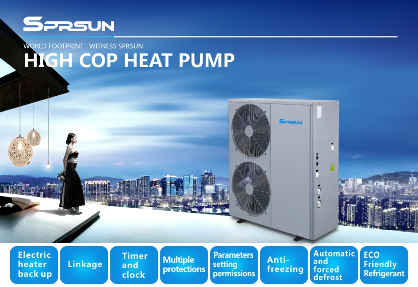 5P Air to Water Heat Pump