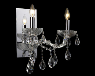 Simple design indoor decorative crystal wall lamp (843004)