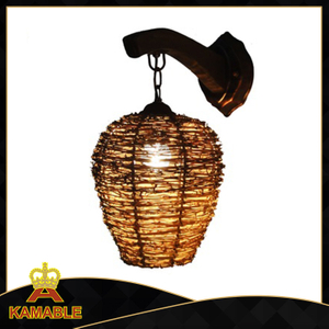 Simple style indoor decorative wood wall lighting (KAMB - 1203W)
