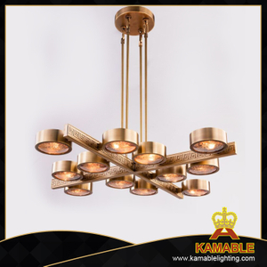 Indoor lights Hotel brass decorative pendant light(PD10371-950)