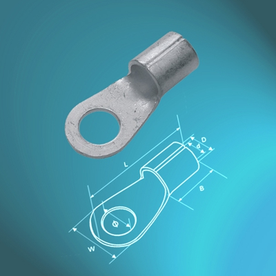 Un-insulated Ring Terminals-UL approved