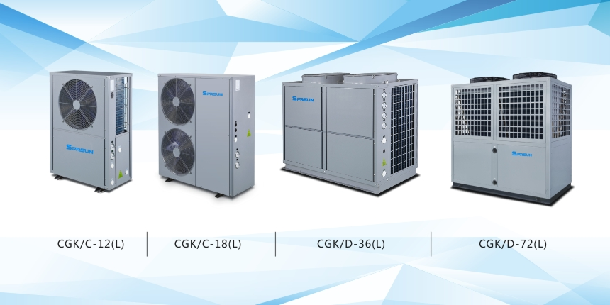 Related Products of EVI Heat Pumps