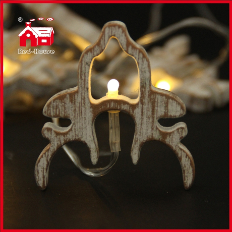 Little Deer Battery Led Light Deer Head Decorative Light