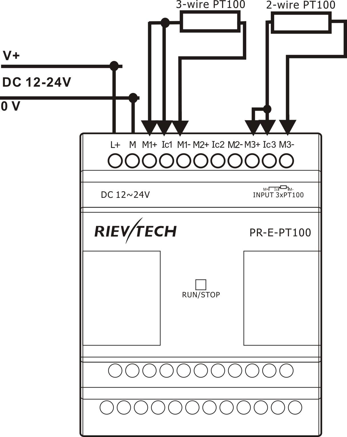 Plc Pt100 3 Wire Center Rtd Wiring Diagram Pr E Buy Ethernet Module Sms Product On Rievtech Rh Com Theory Sensor