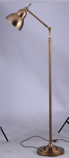 Industrial brass floor standing lamp for project (LT1180-1VBN)