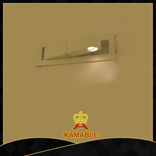 Aluminum Bedside Reading LED Wall Lamp (6058W-LED)