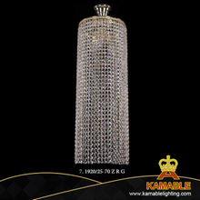 New Product Tiffany Crystal Pendant Suspension Lamp (1920/25R-70 G)