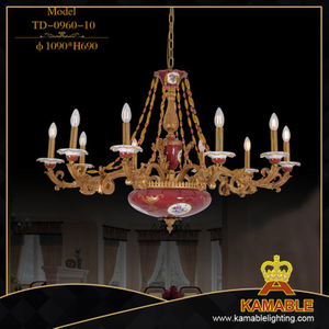 Classical dining room decorative pendant light (TD-0960-10)