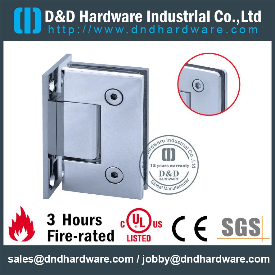 Ddgh001 Stainless Steel 304 Glass Shower Door Hinge Hardware For