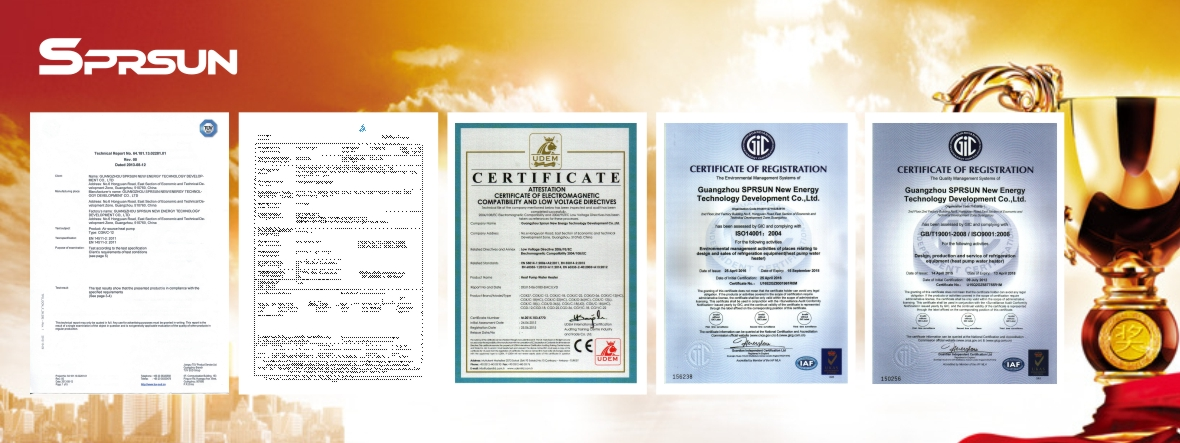 certificated profession heat pump manufacturer