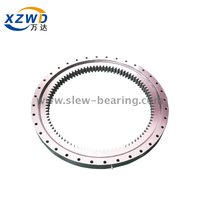 High Precision Light Geared Slewing Ring Bearings for Solar Power Generation