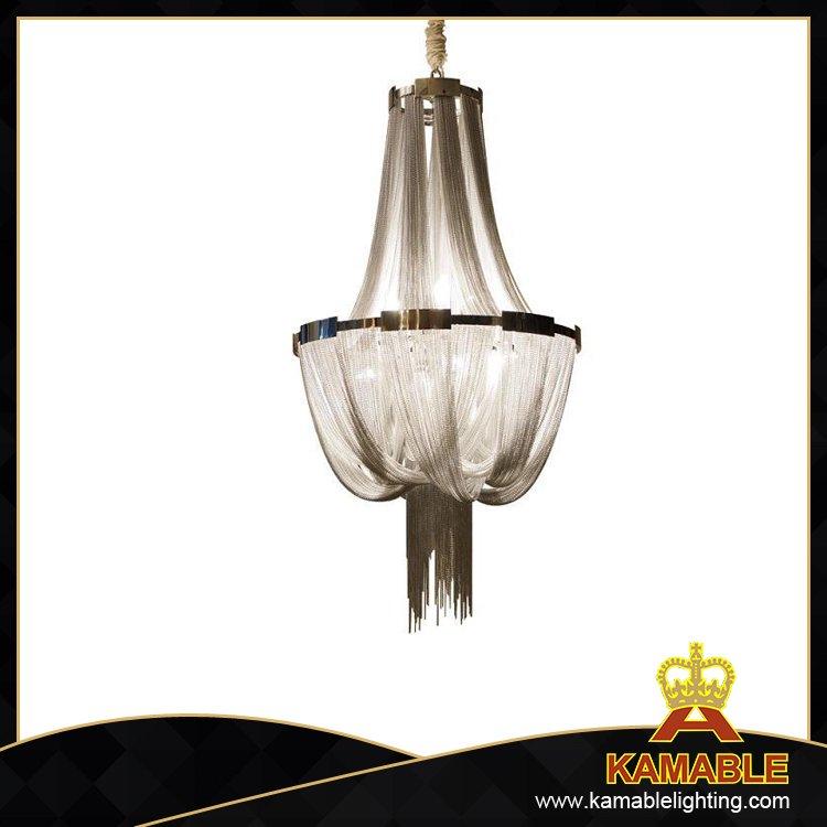 modern luxury chain chandelier lighting ka202 buy silver chain