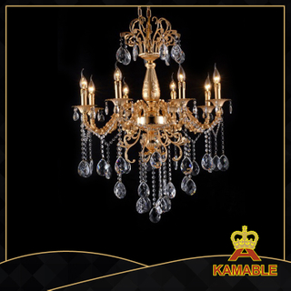 Noble style indoor decorative cast aluminum chandelier(9122-8L )