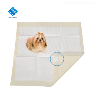 OEM Wholesale Waterproof Pet Training Pads With Adhesive Sticker tapes